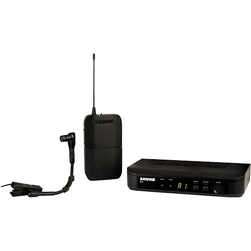 Shure BLX14/B98 Wireless Horn System with WB98H/C Cardioid Condenser Mic Band H9
