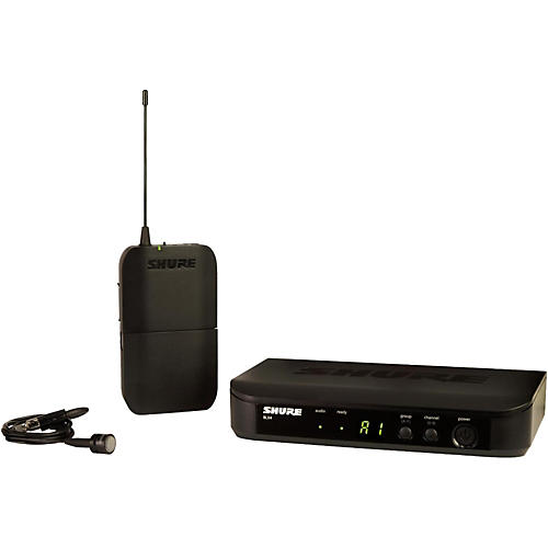 Shure BLX14/PG85 Wireless System with Unidirectional Lavalier Mic Band H8
