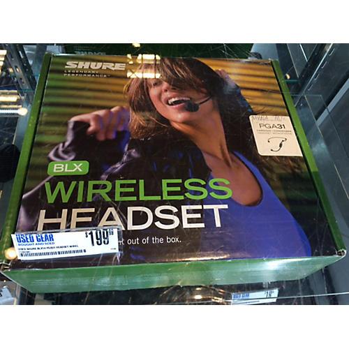 Shure BLX14 PGA31 Headset Wireless System-thumbnail