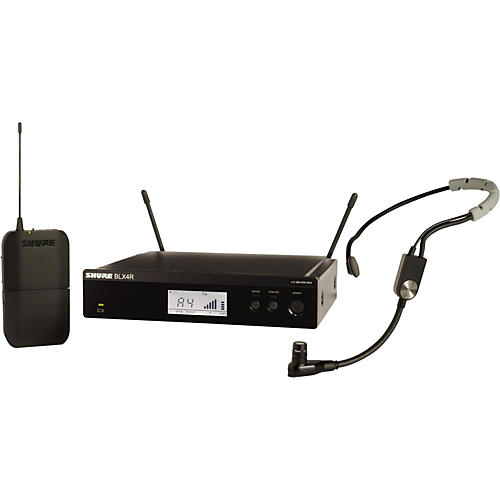 Shure BLX14R Headset System with SM35 Headset microphone Band H10