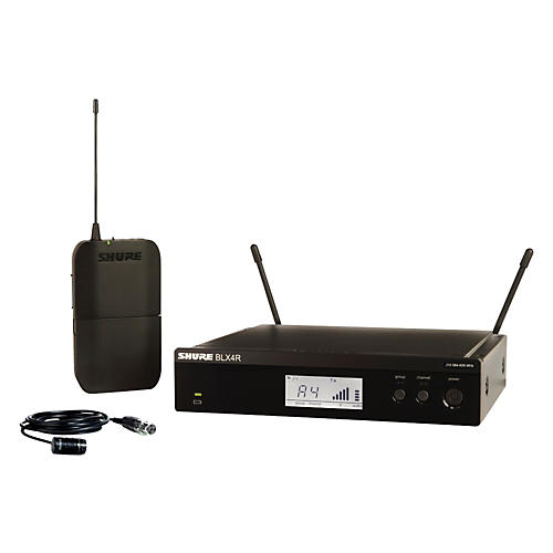 Shure BLX14R/W85 Wireless Lavalier System with WL185 Cardioid Lavalier Mic Band J10