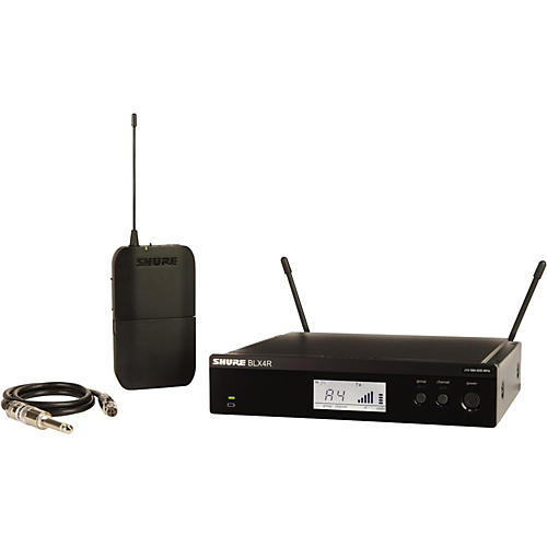 Shure BLX14R Wireless Guitar System with Rackmountable Receiver-thumbnail