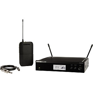 Click here to buy Shure BLX14R Wireless Guitar System with Rackmountable Receiver by Shure.