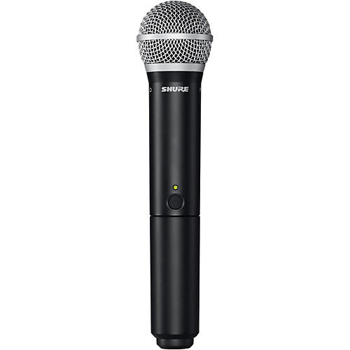 Shure BLX2 PG58 HANDHELD WIRELESS TRANSMITTER WITH PG58 CAPSULE BAND H9