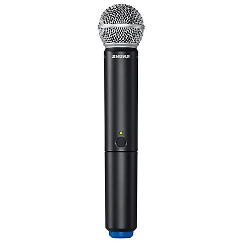 Shure BLX2/SM58 Handheld Wireless Transmitter with SM58 Capsule Band M15