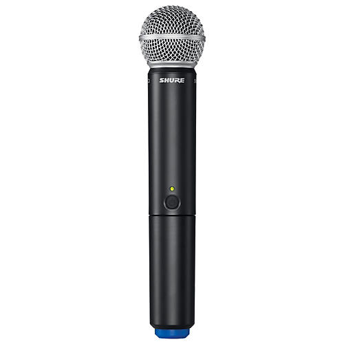 Shure BLX2/SM58 Handheld Wireless Transmitter with SM58 Capsule Band J10