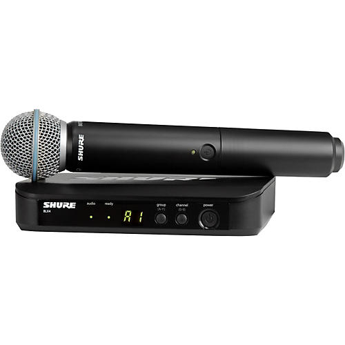 Shure BLX24/B58 Handheld Wireless System with Beta 58A Capsule-thumbnail