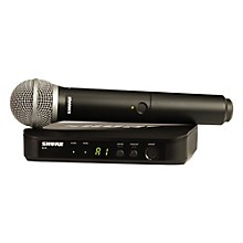 Shure BLX24/PG58 Handheld Wireless System with PG58 Capsule
