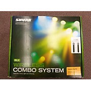 Shure BLX288/PG58 Handheld Wireless System