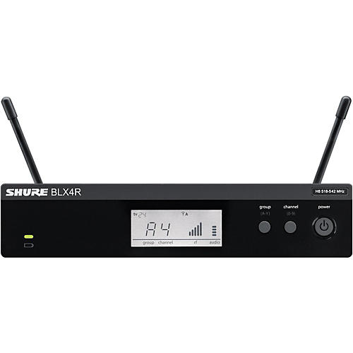 Shure BLX4R BLX Rackmountable Wireless Receiver-thumbnail