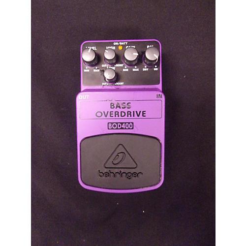 Behringer BOD400 Bass Overdrive Bass Effect Pedal-thumbnail
