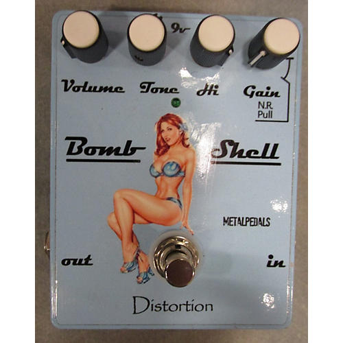 Metal Pedals BOMBSHELL Effect Pedal-thumbnail