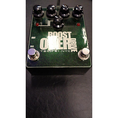 used tech 21 boost overdrive effect pedal guitar center. Black Bedroom Furniture Sets. Home Design Ideas