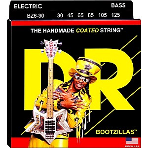 DR Strings BOOTZILLA SIGNATURE 6 STRING BASS MEDIUM .125 LOW B 30-125 by DR Strings