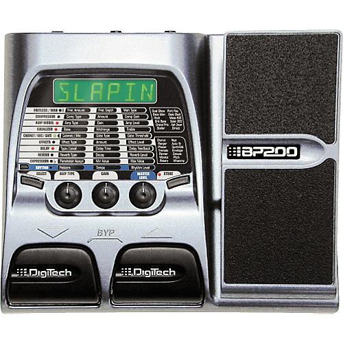 DigiTech BP200 Bass Modeling Processor