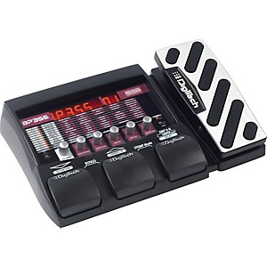 Digitech BP355 Bass Multi-Effects Pedal by DigiTech