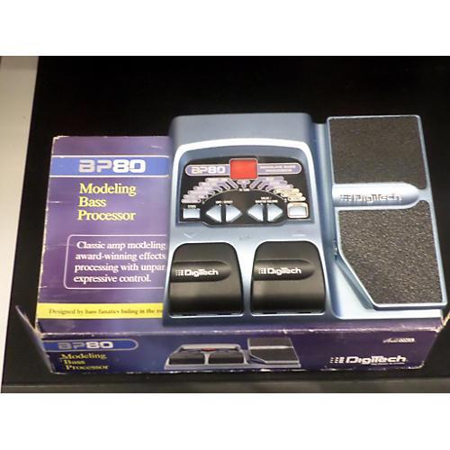 Digitech BP80 Modeling Processor Bass Effect Pedal-thumbnail