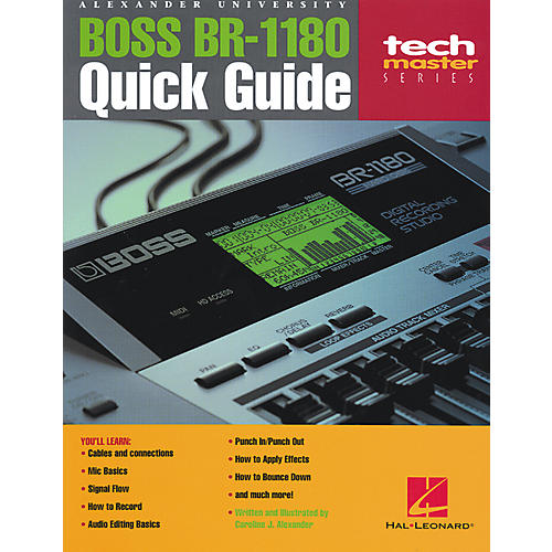 Boss BR-1180 Quick Guide