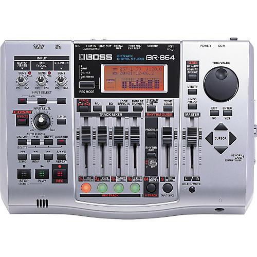 Boss BR-864 8-Track Multitrack Recorder-thumbnail