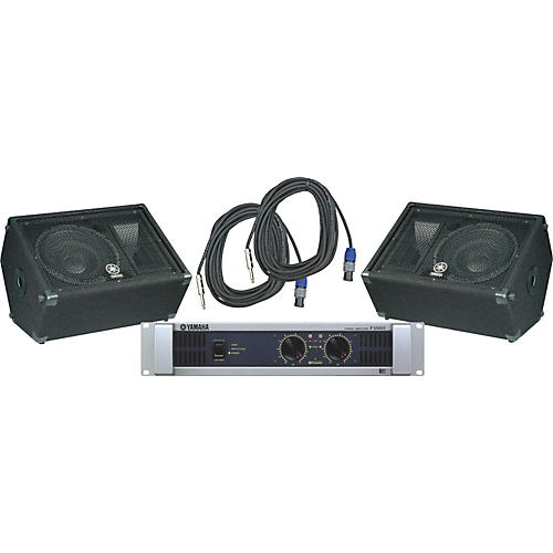 Yamaha BR12M / P3500S Speaker & Amp Package-thumbnail