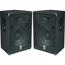 "Yamaha BR15 15"" 2-Way Cabinet Pair"