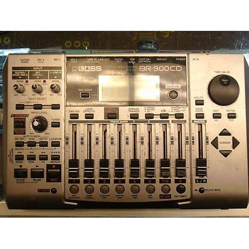 Boss BR900CD Black MultiTrack Recorder-thumbnail