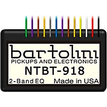 Bartolini BRMNTBTG/918 2-band Tone Control Preamp