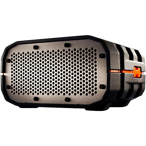 Braven BRV-1 Portable Wireless Speaker Black with Orange Relief and Gray Grill