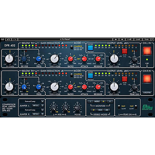Waves BSS DPR-402 Compressor Limiter De-Esser-thumbnail