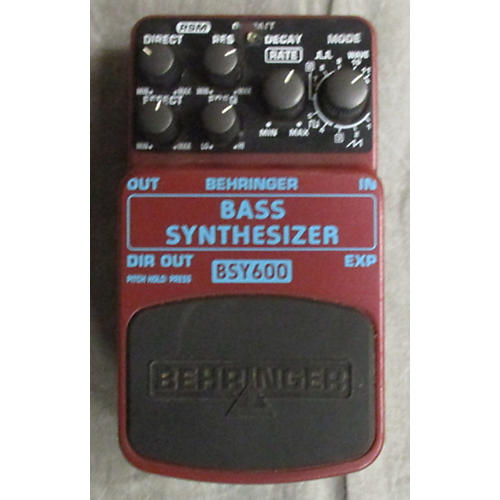 Behringer BSY600 Bass Synthesizer Bass Effect Pedal-thumbnail