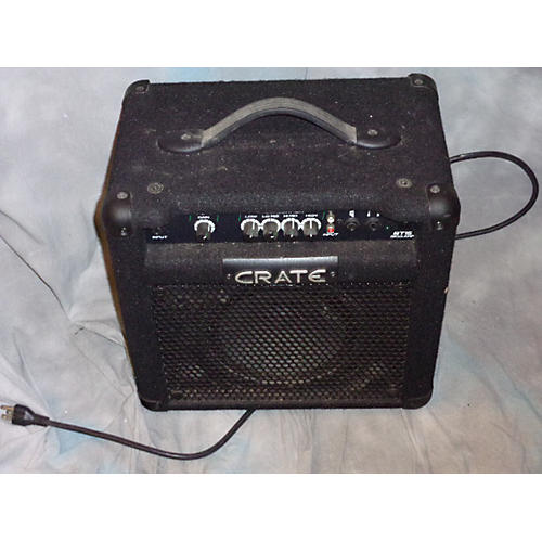 used crate bt15 1x8 15w bass combo amp guitar center. Black Bedroom Furniture Sets. Home Design Ideas