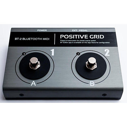 Positive Grid BT2 Bluetooth MIDI Footswitch-thumbnail