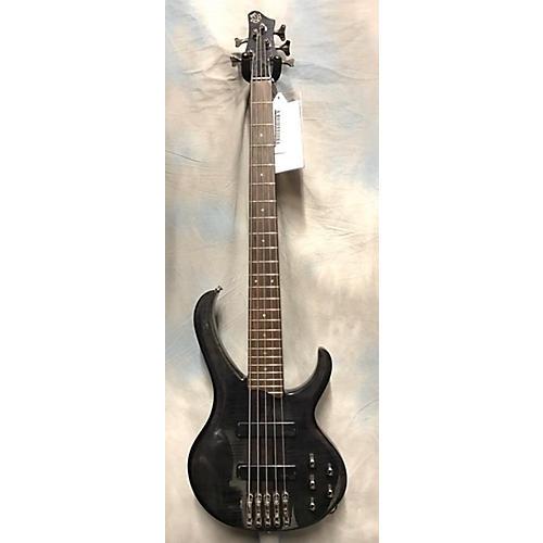 Ibanez BTB575FM Electric Bass Guitar Metallic Gray
