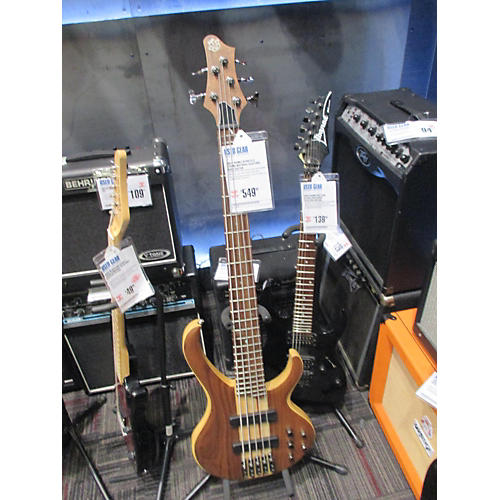 Ibanez BTB675 5 String Electric Bass Guitar Natural