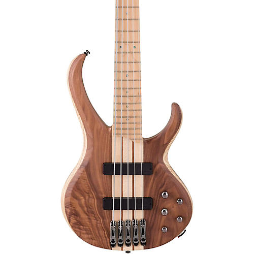 Ibanez BTB675M 5-String Electric Bass Flat Natural