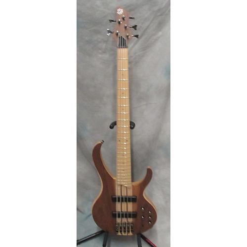 Ibanez BTB675M Maple Bubinga Natural Electric Bass Guitar-thumbnail