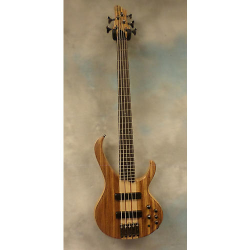 Ibanez BTB675ZW 5 String Natural Electric Bass Guitar