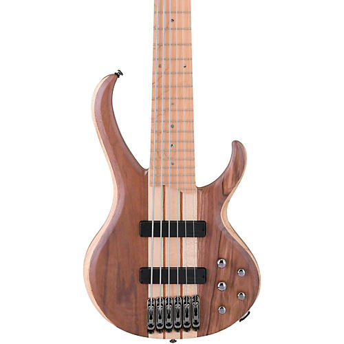 Ibanez BTB676M 6-String Electric Bass Flat Natural