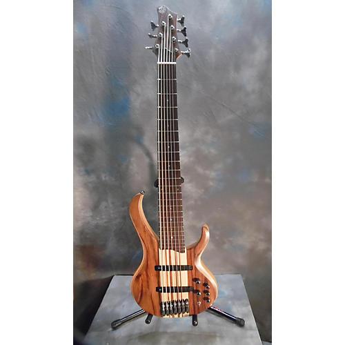 Ibanez BTB7 7 String Natural Flat Electric Bass Guitar-thumbnail