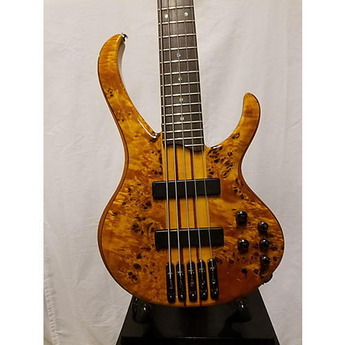 used ibanez btb775pb 5 string electric bass guitar spalted maple guitar center. Black Bedroom Furniture Sets. Home Design Ideas