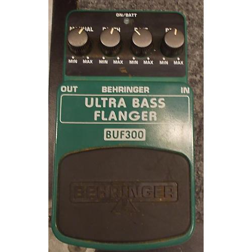 Behringer BUF300 Ultra Bass Flanger Bass Effect Pedal-thumbnail