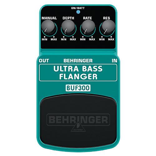 Behringer BUF300 Ultra Bass Flanger Effects Pedal-thumbnail