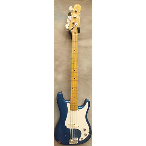Fender BULLET DELUXE BLUE SPARKLE Electric Bass Guitar