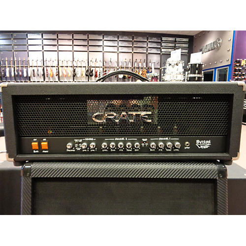Crate BV120H Blue Voodoo 120W Tube Guitar Amp Head-thumbnail