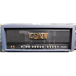 Pre-owned Crate BV120H Blue Voodoo 120 Watt Tube Guitar Amp Head by Crate