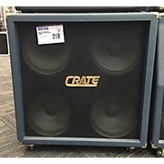 Crate BV412R BLUE VOODOO 4X12 STRAIGHT Guitar Cabinet