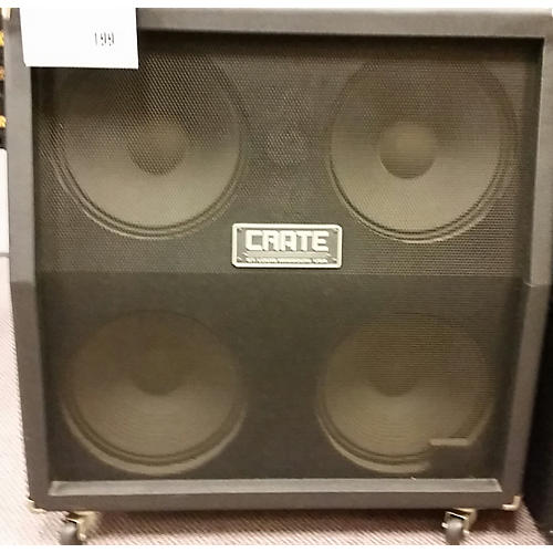 Crate BV412S 4X12 STEREO 120W 8 OHMS Guitar Cabinet