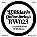D'Addario BW023 80/20 Bronze Guitar Strings  Thumbnail