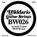 D'Addario BW026 80/20 Bronze Guitar Strings-thumbnail