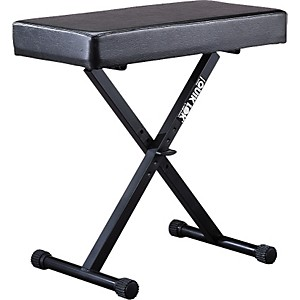 Quik-Lok BX-14 Padded Keyboard Bench by Quik Lok